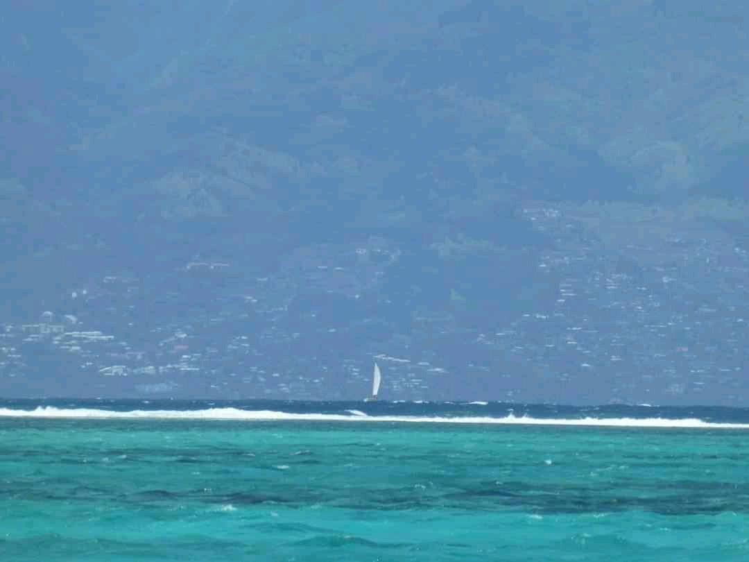 Sailing to Tahiti