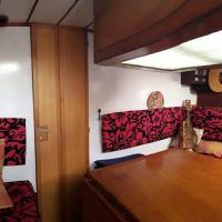 Saloon under cockpit