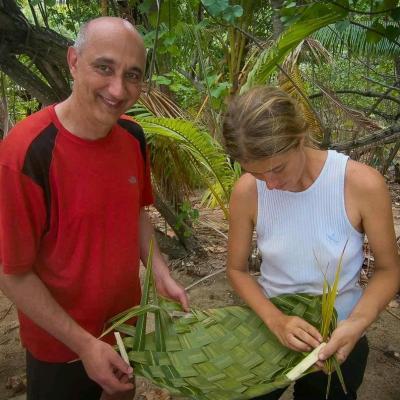 Tressage palme